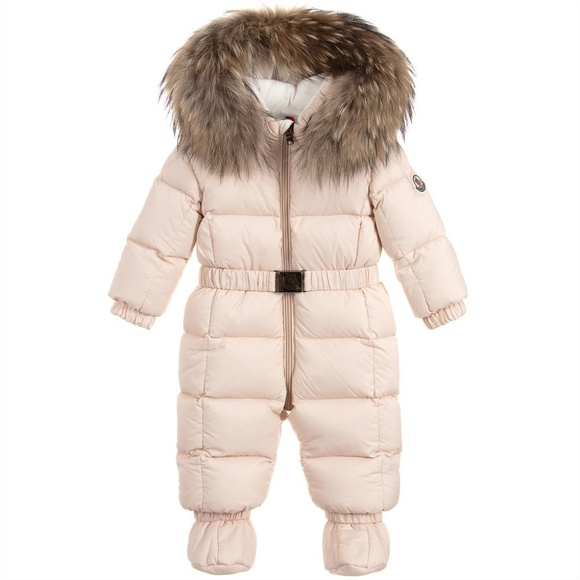 fab0379a0 Moncler Jackets & Coats | New Jean Down Baby Snowsuit 36 Months ...